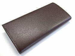 ボックスカーフ ヴェネチアンレザー  長財布  「プレリーギンザ」 NP56020 チョコ 裏面