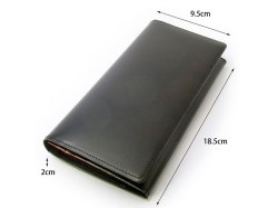 ボックスカーフ ヴェネチアンレザー  長財布  「プレリーギンザ」 NP56020 サイズ