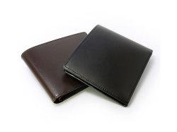 ボックスカーフ ヴェネチアンレザー  二つ折り財布(小銭入れなし)  「プレリーギンザ」 NP56216 イメージ画像