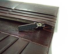 Classico(クラシコ) 長財布(小銭入れあり) 「プレリーギンザ」 NP57122 クロ 内作り