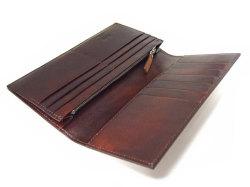 Classico(クラシコ) 長財布(小銭入れあり) 「プレリーギンザ」 NP57122 チャ 内作り
