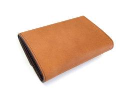 Classico(クラシコ) 三つ折り財布(小銭入れあり) 「プレリーギンザ」 NP57222 チャ 裏面