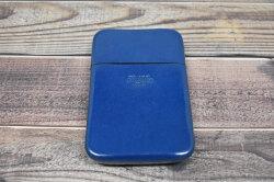 Artigiano(アルチジャーノ) カードケース  「プレリーギンザ」 NP72413 ブルー 裏面