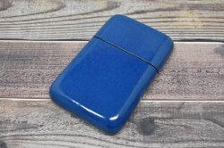 Artigiano(アルチジャーノ) カードケース  「プレリーギンザ」 NP72413 ブルー 正面