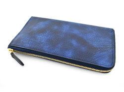 Patine2(パティーヌ2) L字ファスナー長財布 「プレリーギンザ」 NP78020 ブルー 裏面