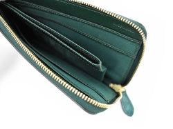 Patine2(パティーヌ2) L字ファスナー長財布 「プレリーギンザ」 NP78020 グリーン 内作り