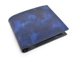 Patine2(パティーヌ2) 二つ折り財布(小銭入れあり) 「プレリーギンザ」 NP78119 ブルー 正面
