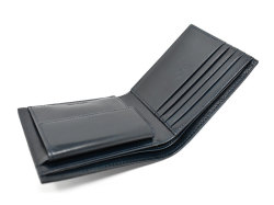 Patine2(パティーヌ2) 二つ折り財布(小銭入れあり) 「プレリーギンザ」 NP78119 ブルー 内作り
