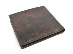 Patine2(パティーヌ2) 二つ折り財布(小銭入れあり) 「プレリーギンザ」 NP78119 チョコ 裏面