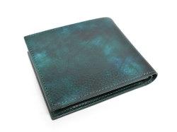 Patine2(パティーヌ2) 二つ折り財布(小銭入れあり) 「プレリーギンザ」 NP78119 グリーン 裏面