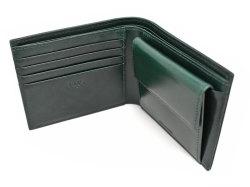 Patine2(パティーヌ2) 二つ折り財布(小銭入れあり) 「プレリーギンザ」 NP78119 グリーン 内作り