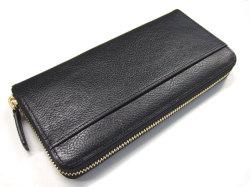 Favor(フェイヴァー) ラウンドファスナー長財布 「プレリートラディショナルファクトリー」 NPF6013 ブラック 裏面
