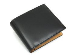 JUWEL Cordovan(ジュエルコードバン)  二つ折り財布(小銭入れあり) 「ジュエル」 NPJ1135 クロ 正面