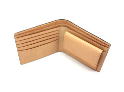 JUWEL Cordovan(ジュエルコードバン)  二つ折り財布(小銭入れあり) 「ジュエル」 NPJ1135 クロ 内作り