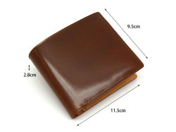 JUWEL Cordovan(ジュエルコードバン)  二つ折り財布(小銭入れあり) 「ジュエル」 NPJ1135 サイズ