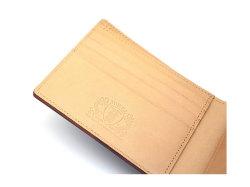JUWEL Cordovan(ジュエルコードバン)  二つ折り財布(小銭入れなし) 「ジュエル」 NPJ1233 チョコ 特徴
