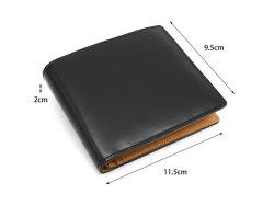 JUWEL Cordovan(ジュエルコードバン)  二つ折り財布(小銭入れなし) 「ジュエル」 NPJ1233 サイズ