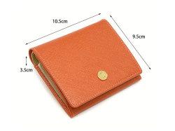 Bijue(ビジュー) 二つ折り財布(小銭入れあり) 「ル・プレリー 」 NPL1280 サイズ