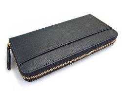 Bijue(ビジュー) ラウンドファスナー長財布 「ル・プレリー 」 NPL1413 クロ 裏面