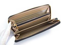 Bijue(ビジュー) ラウンドファスナー長財布 「ル・プレリー 」 NPL1413 クロ 内作り