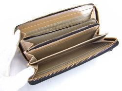 Bijue(ビジュー) ラウンドファスナー長財布 「ル・プレリー 」 NPL1413 クロ 内作り2