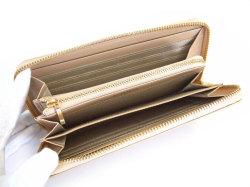 Bijue(ビジュー) ラウンドファスナー長財布 「ル・プレリー 」 NPL1413 ベージュ 内作り