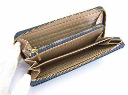 Bijue(ビジュー) ラウンドファスナー長財布 「ル・プレリー 」 NPL1413 ネイビー 内作り