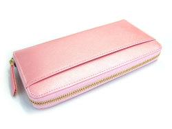 Bijue(ビジュー) ラウンドファスナー長財布 「ル・プレリー 」 NPL1413 ピンク 裏面