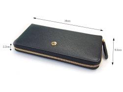 Bijue(ビジュー) ラウンドファスナー長財布 「ル・プレリー 」 NPL1413 サイズ