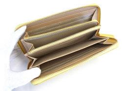 Bijue(ビジュー) ラウンドファスナー長財布 「ル・プレリー 」 NPL1413 イエロー 内作り2