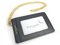 Bijue(ビジュー) パスケース(チェーン付き) 「ル・プレリー 」 NPL1545 クロ 裏面