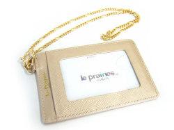 Bijue(ビジュー) パスケース(チェーン付き) 「ル・プレリー 」 NPL1545 ベージュ 裏面
