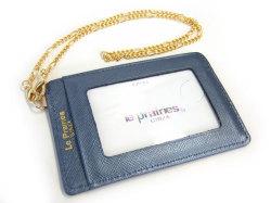 Bijue(ビジュー) パスケース(チェーン付き) 「ル・プレリー 」 NPL1545 ネイビー 裏面