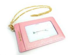 Bijue(ビジュー) パスケース(チェーン付き) 「ル・プレリー 」 NPL1545 ピンク 裏面