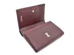 Sheep Mesh(シープメッシュ) 二つ折り財布(小銭入れあり) 「ル・プレリーギンザ 」 NPL2210 ワイン 内作り