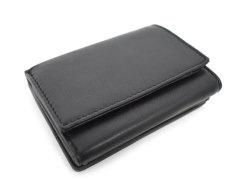 Sheep Mesh(シープメッシュ) 三つ折り財布(小銭入れあり) 「ル・プレリーギンザ 」 NPL2480 クロ 裏面