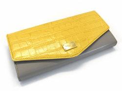 Fascino(ファッシノ) 長財布 「ル・プレリーギンザ 」 NPL3015 イエロー 正面