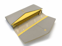 Fascino(ファッシノ) 長財布 「ル・プレリーギンザ 」 NPL3015 イエロー 内作り