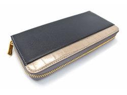 Fascino(ファッシノ) ラウンドファスナー長財布 「ル・プレリーギンザ 」 NPL3114 グレー 裏面