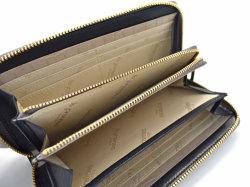 Fascino(ファッシノ) ラウンドファスナー長財布 「ル・プレリーギンザ 」 NPL3114 グレー 内作り