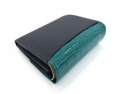 Fascino(ファッシノ) 二つ折り財布(小銭入れあり) 「ル・プレリーギンザ 」 NPL3213 グリーン 裏面