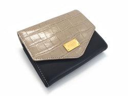 Fascino(ファッシノ) 二つ折り財布(小銭入れあり) 「ル・プレリーギンザ 」 NPL3213 グレー 正面
