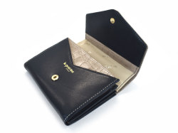 Fascino(ファッシノ) 二つ折り財布(小銭入れあり) 「ル・プレリーギンザ 」 NPL3213 グレー 内作り