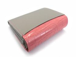 Fascino(ファッシノ) 二つ折り財布(小銭入れあり) 「ル・プレリーギンザ 」 NPL3213 ピンク 裏面
