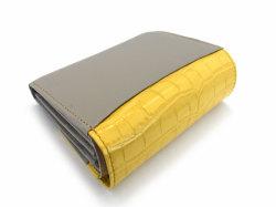 Fascino(ファッシノ) 二つ折り財布(小銭入れあり) 「ル・プレリーギンザ 」 NPL3213 イエロー 裏面
