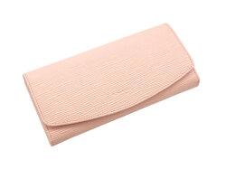 Refined(リファイン) 長財布 「ル・プレリーギンザ」 NPL5014 抗菌・抗ウイルス クレンゼ使用 ピンク 正面