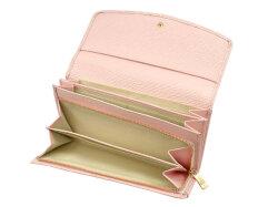 Refined(リファイン) 長財布 「ル・プレリーギンザ」 NPL5014 抗菌・抗ウイルス クレンゼ使用 ピンク 内作り