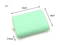 Refined(リファイン)二つ折り財布 (小銭入あり) 「ル・プレリーギンザ」 NPL5114 サイズ