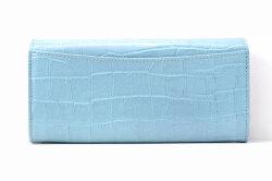 COCCO(コッコ)長財布 「ル・プレリーギンザ 」 NPL9015 ブルー 裏面