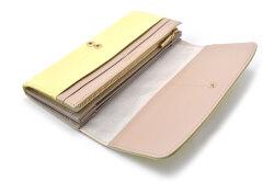 COCCO(コッコ)長財布 「ル・プレリーギンザ 」 NPL9015 イエロー 内作り